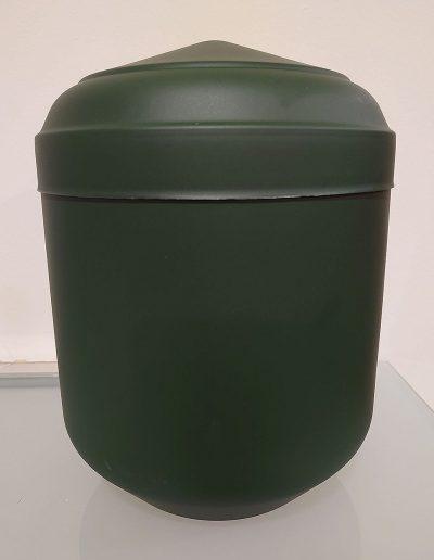 Urna Serol verde mate